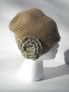Hey, I found this really awesome Etsy listing at https://www.etsy.com/listing/257068735/light-brown-cloche-style-hat-with-flower