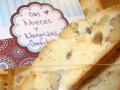 Recetas | Biscotti de nueces y naranjas confitadas | Utilisima.com
