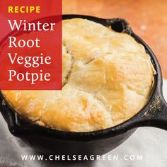 If you have a winter CSA share, then you're probably poking around for some new ways to use up those winter root veggies. Straight from his cookbook Black Red Bliss Potatoes, Individual Pies, Pumpkin Bundt Cake, Root Veggies, Tart Pan, Sourdough Recipes, Pot Pie, Trumpet, Homesteading