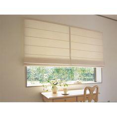 (写真は形状見本です。実際はゴールデンリリーマイナーの生地で作成します)モリスの後継者でもあるジョン・ヘンリー・ダールが壁紙としてデザインした「ゴールデンリリーマイナー」柄のシャープシェード。窓辺にぴったりサイズで加工ができるオーダー対応です。 Roman Blinds, Roman Shades, Glass Walls, Curtains, Interior Design, House, Japan, Home Decor, Ideas