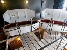 Sleep in a Coffin  Propeller Island City Lodge in Berlin
