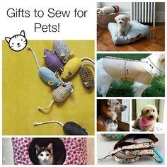 Ideas de regalos para mascotas para coser