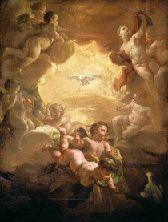 """Anúncio do Espírito Santo  «Depois disso, acontecerá que derramarei o meu Espírito sobre todo ser vivo: vossos filhos e vossas filhas profetizarão; vossos anciãos terão sonhos, e vossos jovens terão visões.Naqueles dias, derramarei também o meu Espírito sobre os servos e as servas».  (Livro de Joel, 3, 1-2)  Jesus Cristo antes de partir, na sua infinita bondade, anunciou-nos que nos enviaria uma """"Prenda"""" e que """"Prenda""""! O Espírito Santo provindo do Pai e Dele.  Muito obrigado, soa a pouco…"""