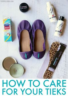 Tieks Leather Ballet Flats are an investment worth making and I'm showing you how to keep them looking beautiful with Tarrago shoe cream polish.
