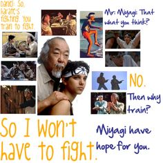 "evy-4ever:      ""So I won't have to fight"" by me!  Once again expressing my love for Daniel LaRusso!  the karate kid 