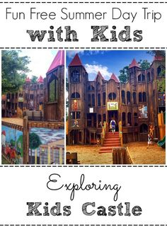 Exploring Kids Castle in Doylestown, PA - Everything you need to know about this amazing play structure!