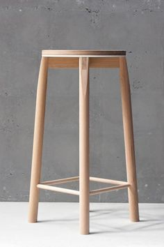 Introducing the Crop bar stool – a solid American Oak stool featuring a white powder-coated aluminium accent, exposed joinery and timber rails. Ikea Furniture, Living Furniture, Furniture Deals, Furniture Design, Office Furniture, Kitchen Stools, Bar Stools, Office Chair Without Wheels, Chaise Bar
