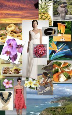 D' Veil Weddings & Events: How To – Hawaiian Inspired Wedding