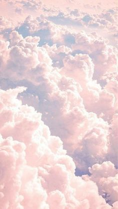 Pastel Aesthetic Clouds Notepad 100-Sheets