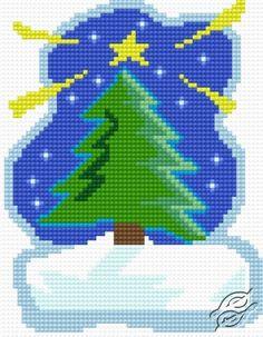 Christmas Tree - Free Cross Stitch Pattern