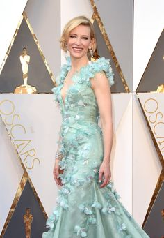 Cate Blanchett look Armani Oscar 2016 - party dress / vestido de festa