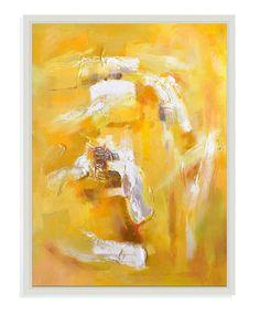Bassett Mirror Jaune Tourbillon Canvas Art [7300-067EC]