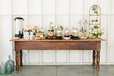 {found} Styling Lessons | School of Styling  #table #display #dessert #demijohn #drinks #flowers #styling #design #specialtyrentals #vintagerentals