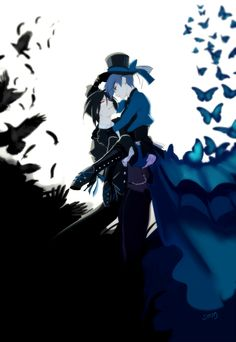 The Crow and the Butterfly Art by t-stray Just like a crow chasing the butterfly dandelions lost in the summer sky When you and I were getting high as outer space, I never thought you'd slip away I guess I was just a little too late. Shinedown - The Crow & the Butterfly. Black Butler /Kuroshitsuji Ciel, Sebastian