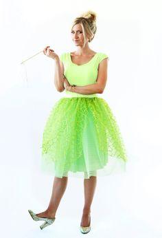 Elle Apparel: THE MODERN GIRLS GUDE TO SEWING - HALLOWEEN WEEK: TINKERBELL