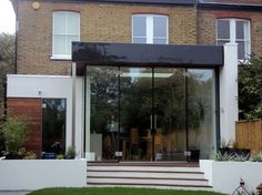 The aluminium fascia plays a huge part in the success for this build...