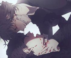 Aesop x Eli Identity Quotes, Identity Art, Blood Wallpaper, Dead Beautiful, Anime W, Gothic Anime, Happy Tree Friends, Sad Art, Cute Gay Couples