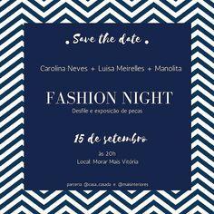 Fashion Night no proximo dia 15.09 as marcas @shop.luisameirelles @carolinaneves_ @mundomanolita se unem a @casa_casada e @maisinteriores para promover uma noite de moda e decor. Esperamos vocês!