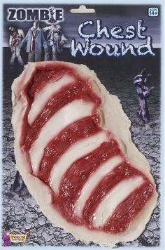 Zombie Chest Wound #endoftheworld