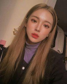 something special ♡ Korean Makeup Look, Asian Makeup, Korean Beauty, Asian Beauty, Cute Makeup, Pretty Makeup, Beauty Makeup, Hair Makeup, Hair Beauty