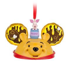 Winnie the Pooh Ear Hat Ornament - Time for something sweet, Item No. 7509055880107P, $22.95