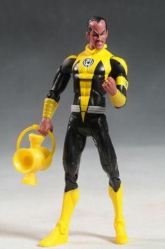 DCUC Reverse Flash, Sinestro, Nekron figures by Mattel