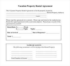 Landlord Tenant Lease Agreement Form Template  Tenancy Agreement