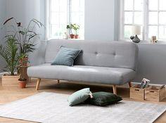 Sovesofa - To møbler i én elegant løsning Greek House, Sofa Couch Bed, Bed Lights, Scandinavian Interior, Love Seat, Furniture, Home Decor, Display, Living Room
