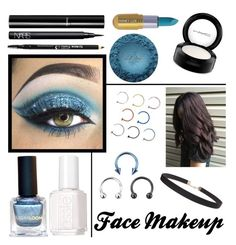 """""""February 26, 2017"""" by dderoseau ❤ liked on Polyvore featuring beauty, Disney, NARS Cosmetics, Chanel, MAC Cosmetics, The BrowGal, Winky Lux, Essie and Humble Chic"""