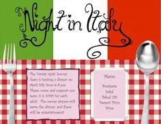 elementary school italian dinner invitations | Submitted by rvandereyken on Fri, 03/22/2013 - 17:40