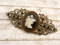 Hey, I found this really awesome Etsy listing at https://www.etsy.com/au/listing/508108839/hair-barrette-with-fairy-cameo-hair