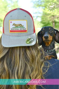 0f486d43cceef California Dachshund lovers! This Cap was made for you!  doglover   california