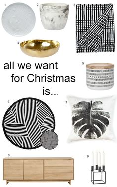 In need of some gift idea inspiration? Check out our Christmas Wishlist: Drool-worthy Homewares and Decor