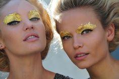 Gorg.   Secret Hipster: Gold Leaf Makeup