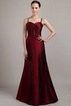Exclusive Spaghetti Straps A-line Floor Length Burgundy Bridesmaid Dresses With Ruched Bust Cheap Graduation Dresses, Princess Wedding Dresses, Bride Dresses, Burgundy Bridesmaid Dresses, Plus Size Wedding, Special Occasion Dresses, Elegant, Mantel, Evening Dresses