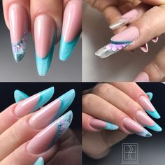 Pipe nails | nail art design ideas | decorado de unas