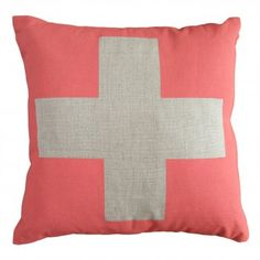 cross cushion | olive & joy