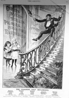 Full page advert for Brooke's Monkey Brand Soap - The Graphic magazine  May 9th 1891