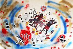 cm, sticker and stencil on bristol, 2015 Dada Art, Paper Artwork, Painted Paper, Buy Art, Saatchi Art, Stencils, Original Art, Collage, Blue And White