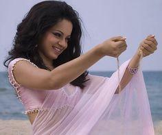 baby pink chiffon saree gold pearl border - Google Search