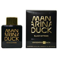 Mandarina Duck Black Extreme By Mandarina Duck Eau De Parfum Spray 3.4 Oz