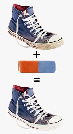 Если вызаметили несовершенства насвоей обуви, неспешите отдавать еевремонт. Возможно, все можно поправить, ипричем очень просто. Неверите? Тогда посмотрите нашу статью.