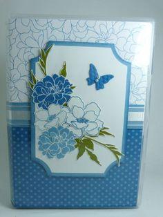 Fabulous Florets Clear Case Notepad