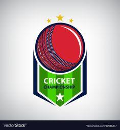 Cricket Poster, Cricket Logo, Vector Free, Cricket Insect, Shield Vector, Logo Line, Silhouette Vector, Modern Logo