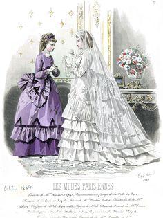 1869 Les Modes Parisiennes