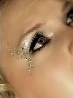 Crystal Makeup on Pinterest | Rhinestone Makeup ...