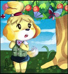 Animal Crossing: Isabelle by KiruLEL.deviantart.com on @deviantART