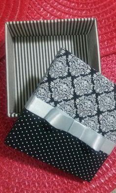 Caixa MDF com tecido SueGarcez