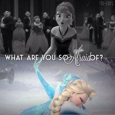 The very thing Elsa was afraid of happened-Anna's heart is FROZEN--good going Elsa Disney Pixar, Walt Disney, Deco Disney, Disney And Dreamworks, Disney Animation, Disney Love, Disney Magic, Disney Frozen, Disney Characters