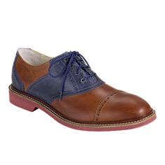 Cole Haan Air Franklin Cap-Toe Saddle Oxford